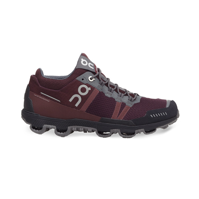 Cloudventure Midtop(여성용) Mulberry & Grey On-running